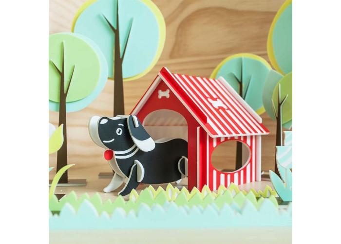 狗狗 - 立體拼圖