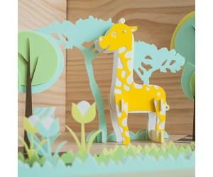 長頸鹿 - 立體拼圖