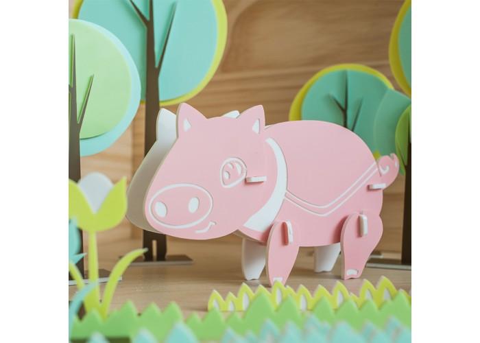小豬 - 拼圖