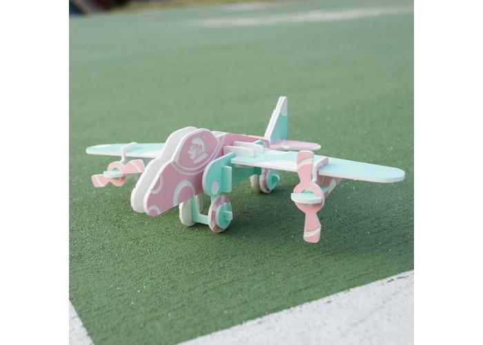 雙槳 輕航機 - 立體拼圖