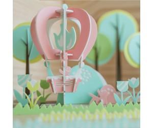 熱氣球 - 立體拼圖