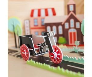 三輪車 - 立體拼圖