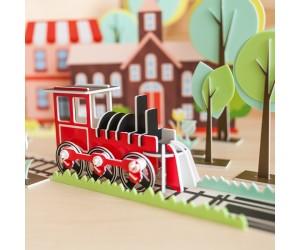 火車 - 立體拼圖