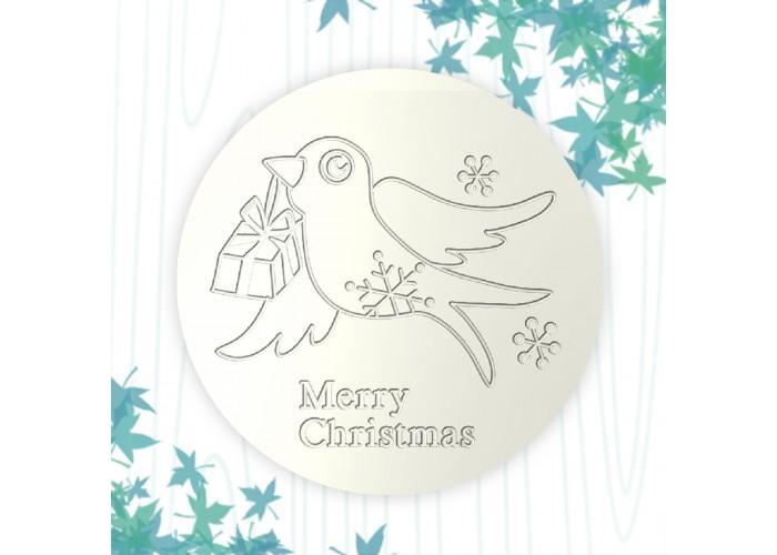 聖誕杯墊-燕子的禮物