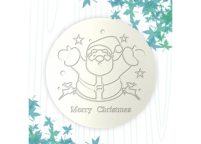 聖誕杯墊-聖誕老人