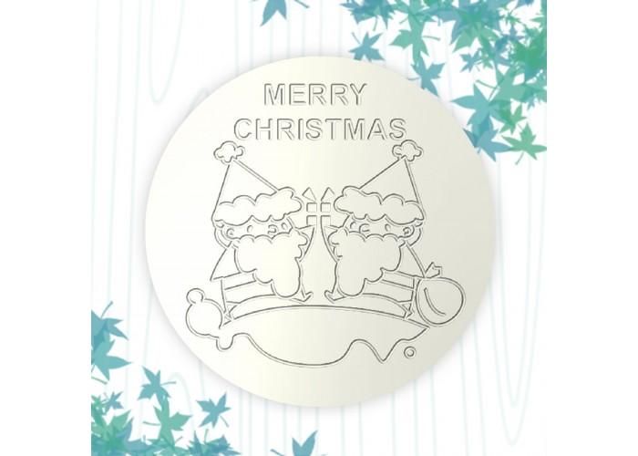 聖誕杯墊-聖誕精靈
