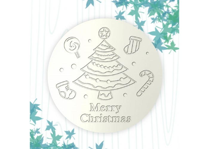 聖誕杯墊-聖誕樹