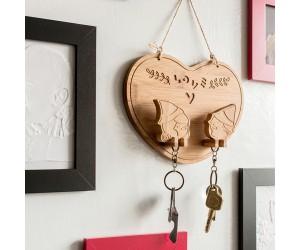 木偶奇寓-鑰匙架-愛心