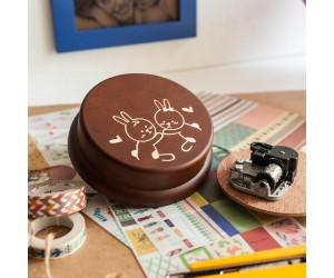 音樂盒-情侶兔