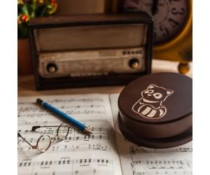 其他圖案音樂盒-狸貓