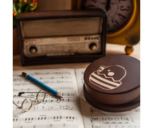 其他圖案音樂盒-雞蛋布丁