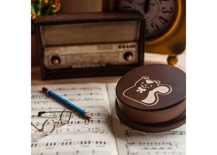 其他圖案音樂盒-小松鼠
