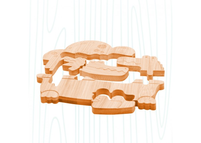 鱷魚泡泡-竹子